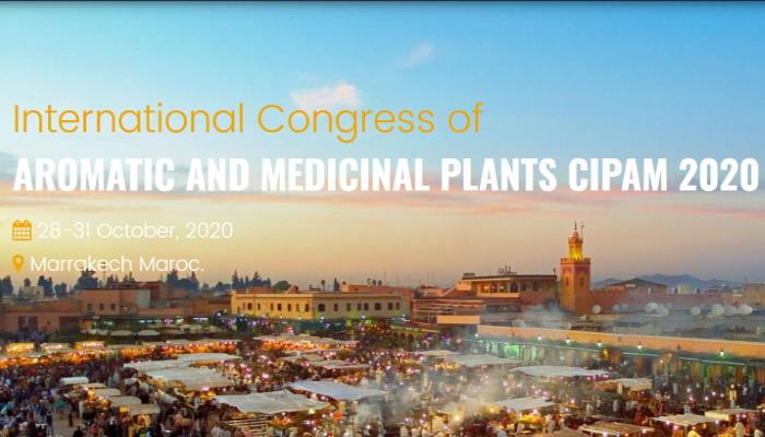 International Congress of AROMATIC AND MEDICINAL PLANTS CIPAM 2020