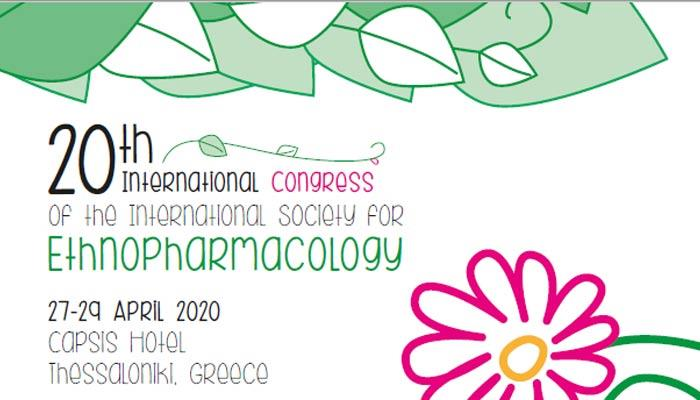 20th International Congress of International Society for  (ISE) - Thessaloniki